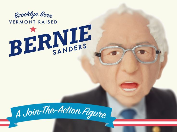 Let's turn Bernie Sanders into an action figure and create a fun new way to get real people and small businesses engaged in politics.