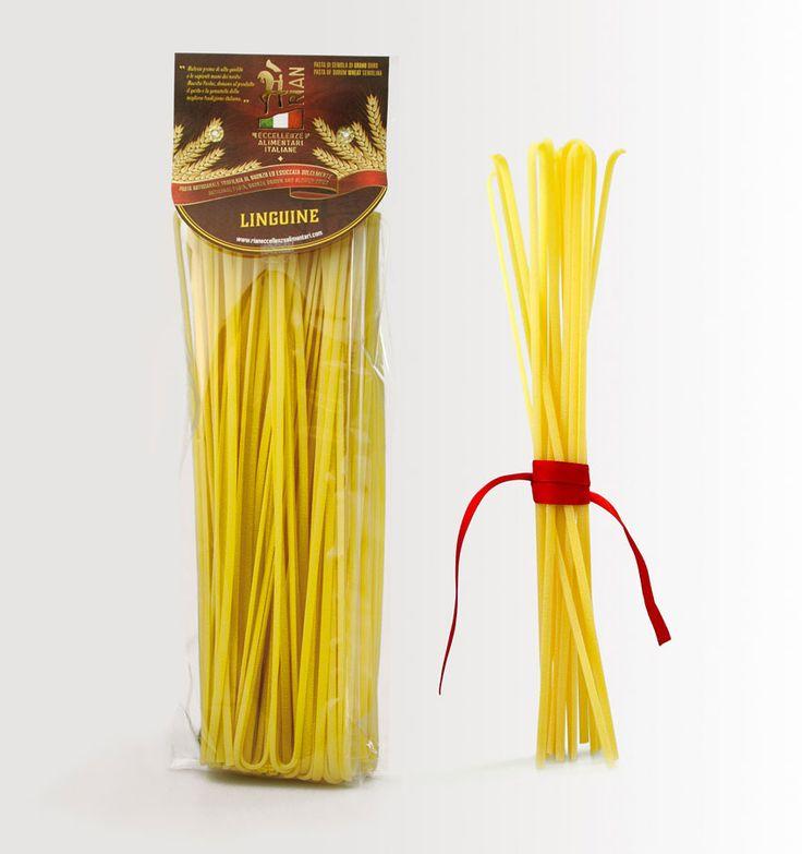 #linguine, #pasta di gragnano, ed il suo nuovo #packaging. Progetto per la nuova linea di prodotti @Rian eccellenze alimentari italiane, realizzato dallo #studio grafico @Lagartixa Design