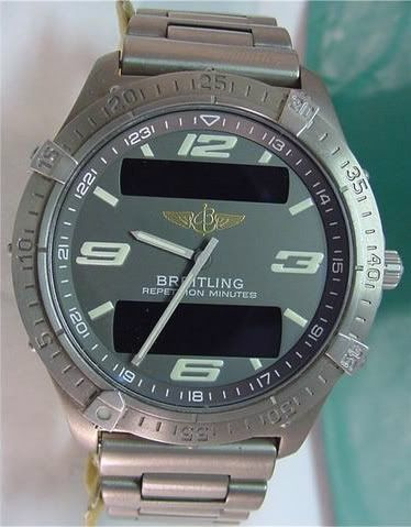 Breitling Aerospace - a brief history to aid identification and dating