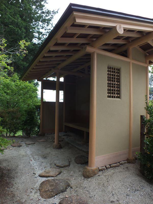 die besten 25 japanisches teehaus ideen auf pinterest teeh user traditionelles japanisches. Black Bedroom Furniture Sets. Home Design Ideas