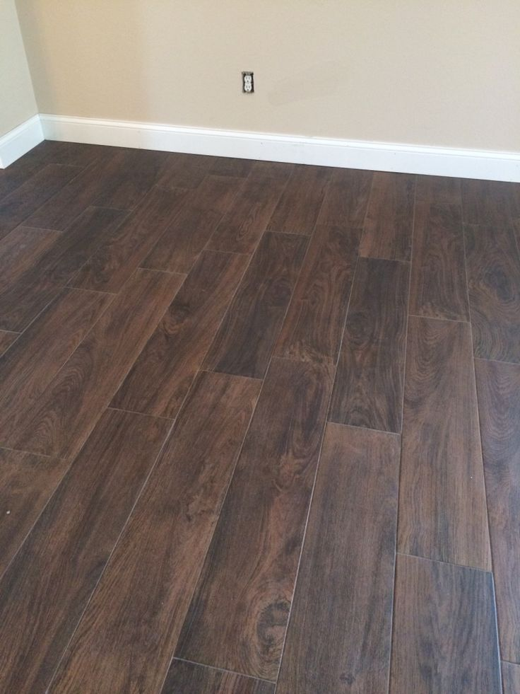 Mahogany Floor Tile 8x36   48 Sq/ft