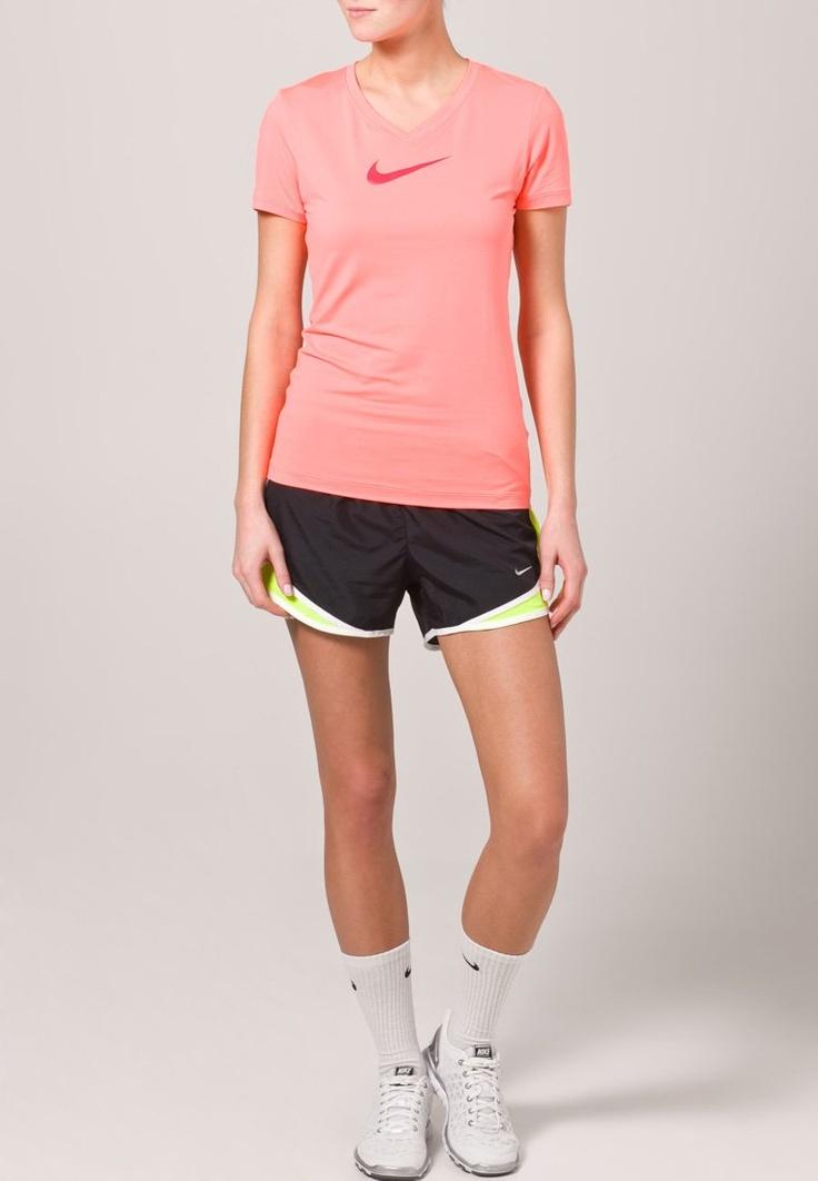 Nike Performance - TEMPO SHORT - Shortsit - musta