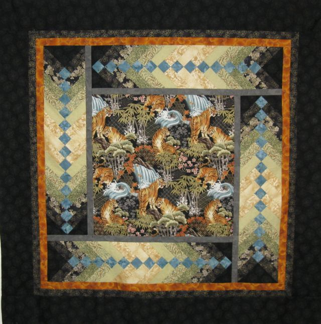 French Braid by Valerie Yeaton; pattern from 'French Braid Obsession' by Jane Hardy MIller. Posted at See How We Sew.