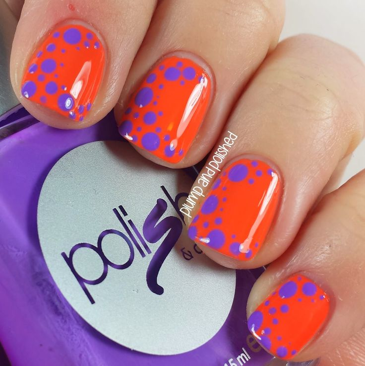 ShopLately - Polish & Co. Dotticure Nail Art - Plump and Polished