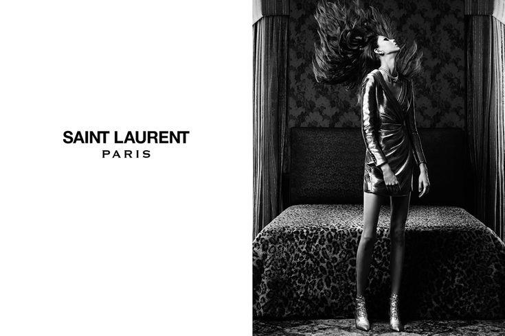 'Teenage girl' Saint Laurent SS14