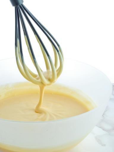 Crème pâtissière - Recette de cuisine Marmiton : une recette