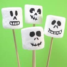 Bilderesultat for halloween marshmallows
