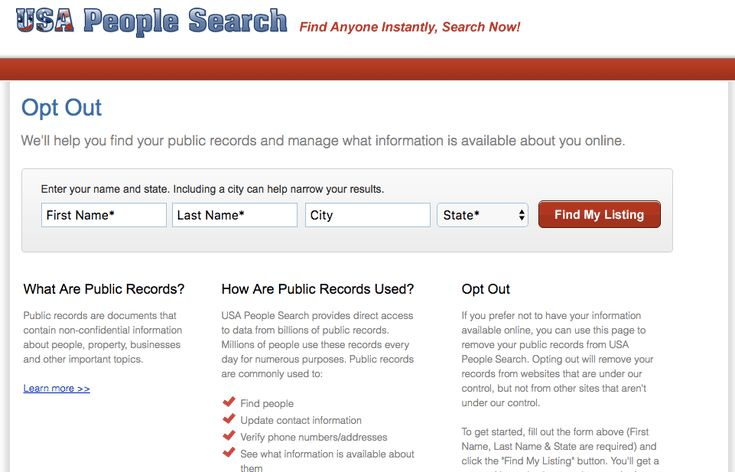 How to Erase Your Tracks Online: How to Remove Personal Information from USA People Search