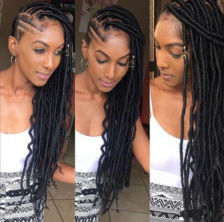 Remarkable 261 Best Images About Goddess Locs On Pinterest Hair Studio Short Hairstyles Gunalazisus