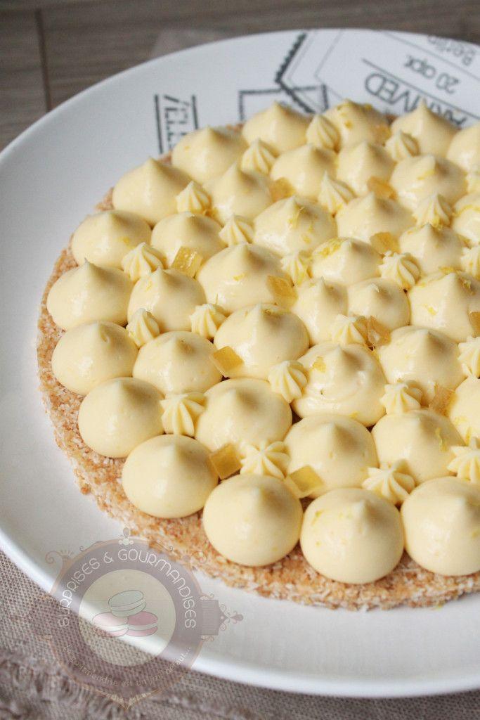 Tarte au citron de Christophe Michalak - Surprises et gourmandises