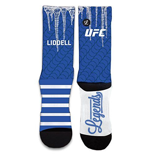 Legends UFC Chuck Liddell Iceman Sublimated Socks