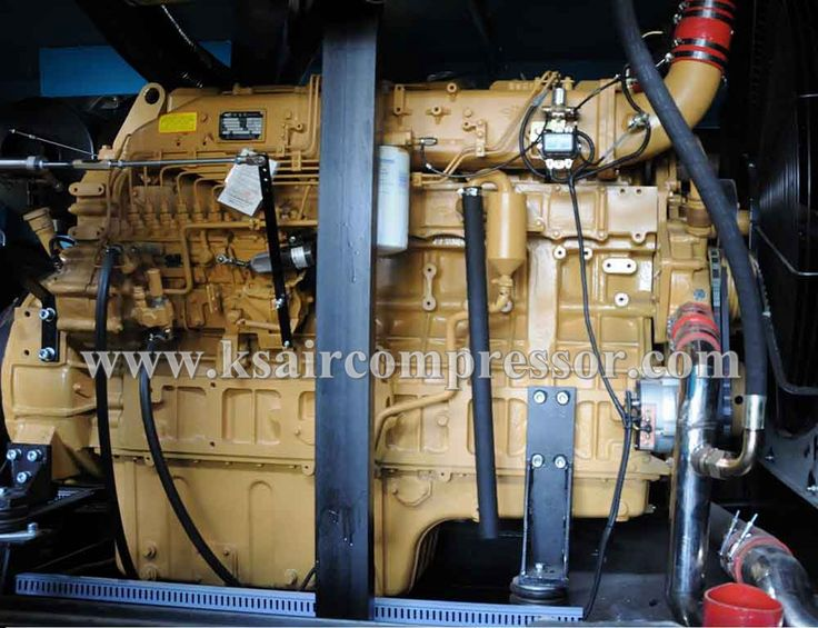 Diesel engine compressor