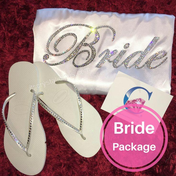 Crystalicious® Bride Package with Custom SWAROVSKI® embellishment *