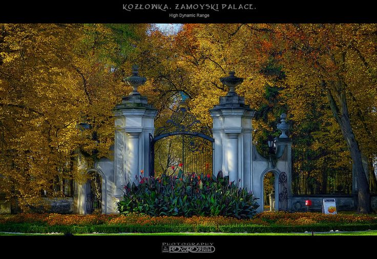 Kozłówka by Robert Powroźnik on 500px , #HDR #Kozlowka #Zamoyski #palace, Poland