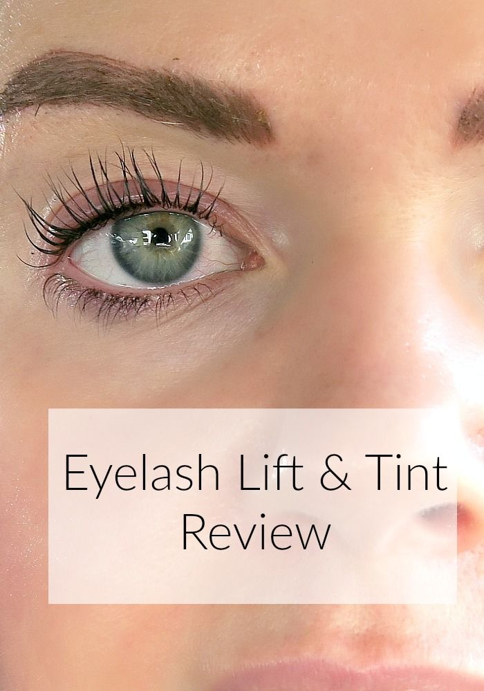 Eyelash Lift And Tint Review Everyday Starlet Beauty Makeup