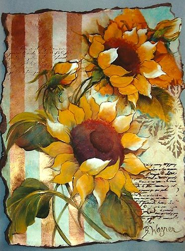 The Decorative Painting Store Sunflower Sensations Download Newly Added Pattern Packets