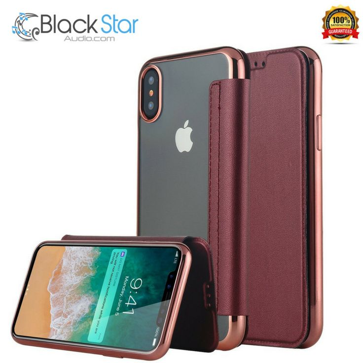 iPhone X Case,iPhone 10 Case, Snewill Slim PU Leather Folio Flip Case with Card  #Snewill