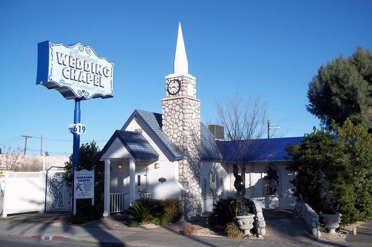 Les chapelles de mariage  Combien de touristes se sont dit oui ou ont profité de ces lieux kitsch pour renouveler leurs vœux? Les moins amoureux d'entre vous pourront se contenter de visiter ces lieux emblématiques de Las Vegas.