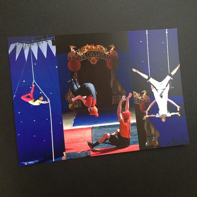 A beautiful #business #postcard for the #Summerfield #Waldorf School winter #circus show
