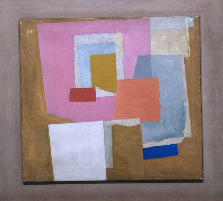 Ben Nicholson OM, '1924 (first abstract painting, Chelsea)' c.1923-4