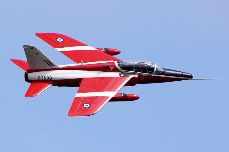 Folland Gnat T.1 XR538 (Photo Airwolfhound)