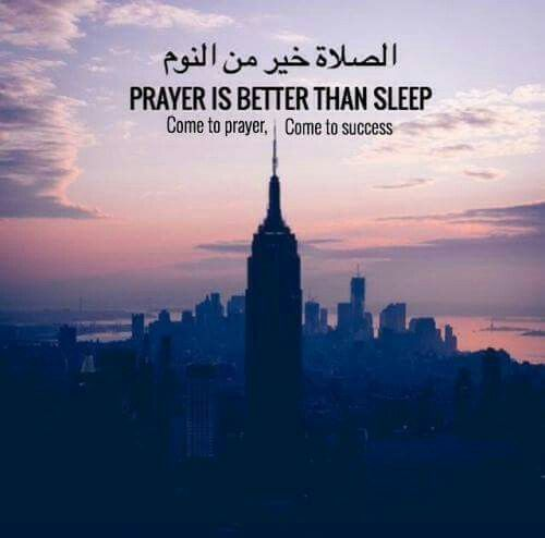 I love waking up to pray Fajr. This is how much I love Allah and put my trust into him. I often see my mom in my dreams after. God bless her!!!!