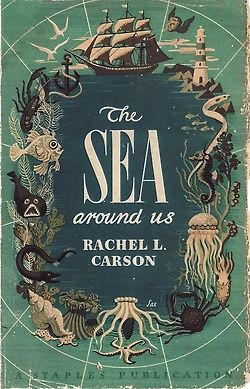 the design fit well with tittle of the book. it may be bit too specific but i like the creativity and the way the sea animals are place to make the reader focus on the text.