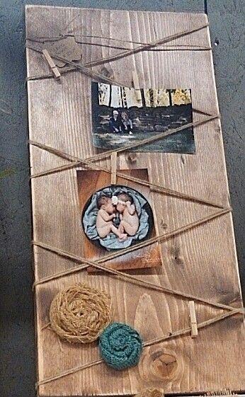 Cute diy memo board or memory board