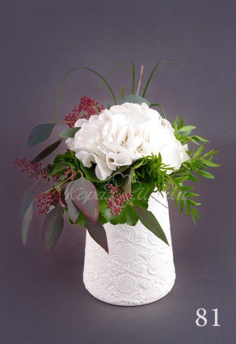 Букет из одного цветка тоже может быть интересным.  Заказать букеты и композиции из одного цветка можно в студии флористики coralsharm.ru