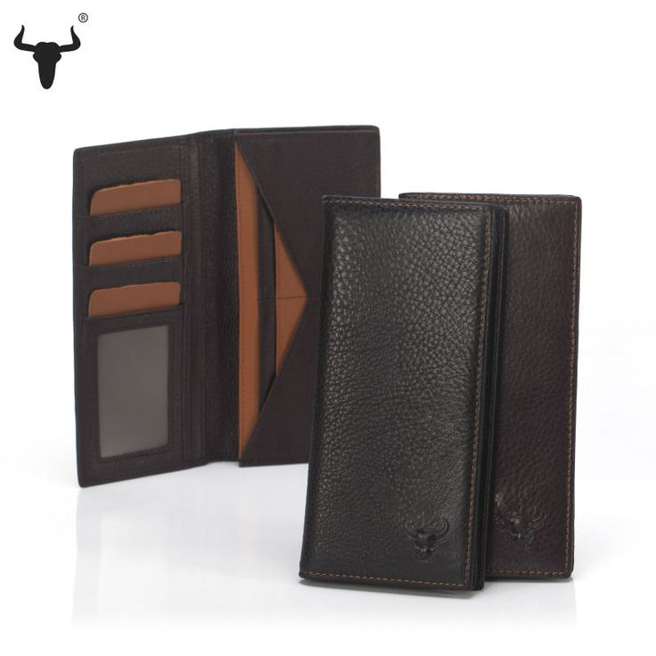 Genuine Leather Long Wallet - Pick Pay Post