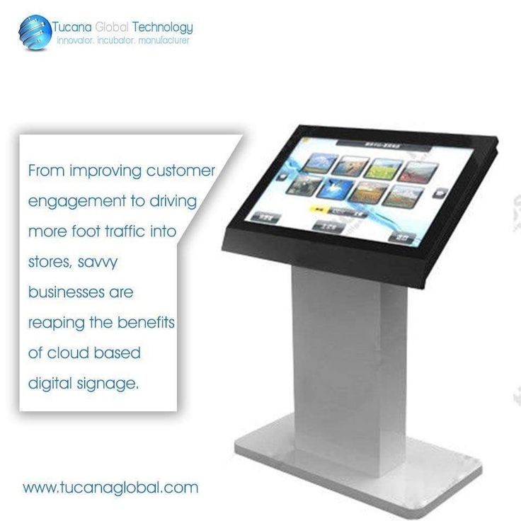 From #improving #customer #engagement to driving more #foot #traffic into stores, savvy #businesses are reaping the benefits of #cloud based #digitalsignage. #TucanaGlobalTechnology #Manufacturer #HongKong