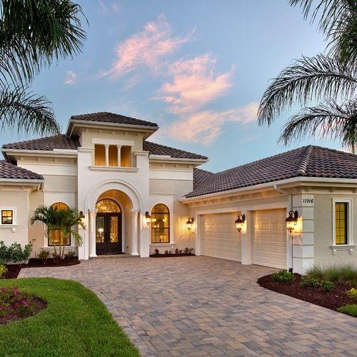 Mediterranean Color Schemes Exterior Home Design