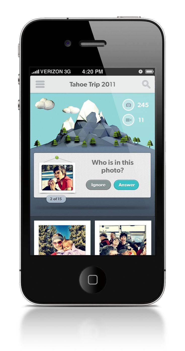 iOS App Design by Jeremiah Shaw via Dribbble