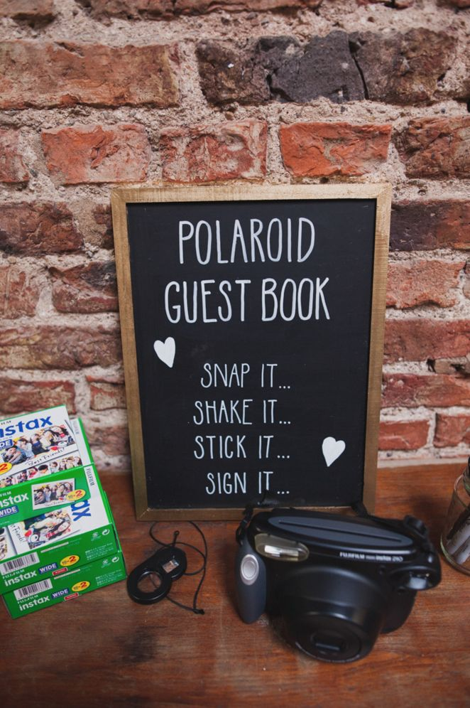 10 Creative Guest Book Ideas You Need To See! | WedPics - The #1 Wedding App