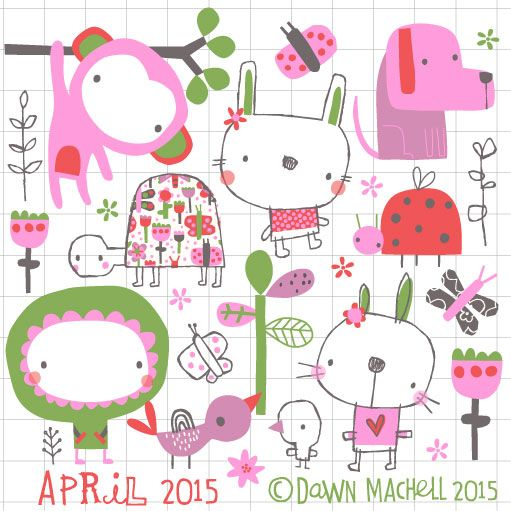 pop-i-cok: april on my blog