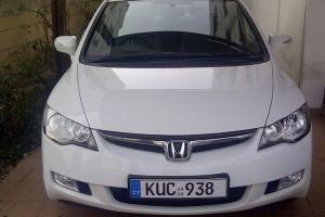 2008 Honda Civic Hybrid 1.3L 9,500 EUR #Cyprus #Nicosia #CarsCyprusCom