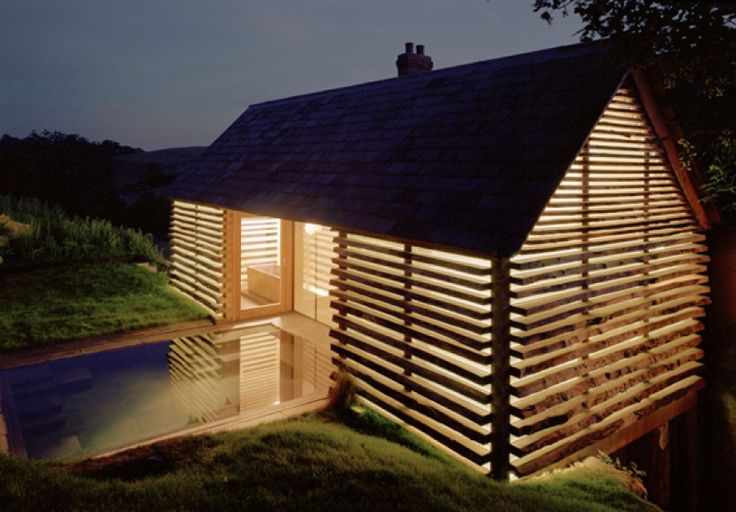 Pool house extension