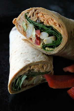 """Laughing Cow Mexican Wrap: A take on the """"seven layer dip"""" Looks yum"""