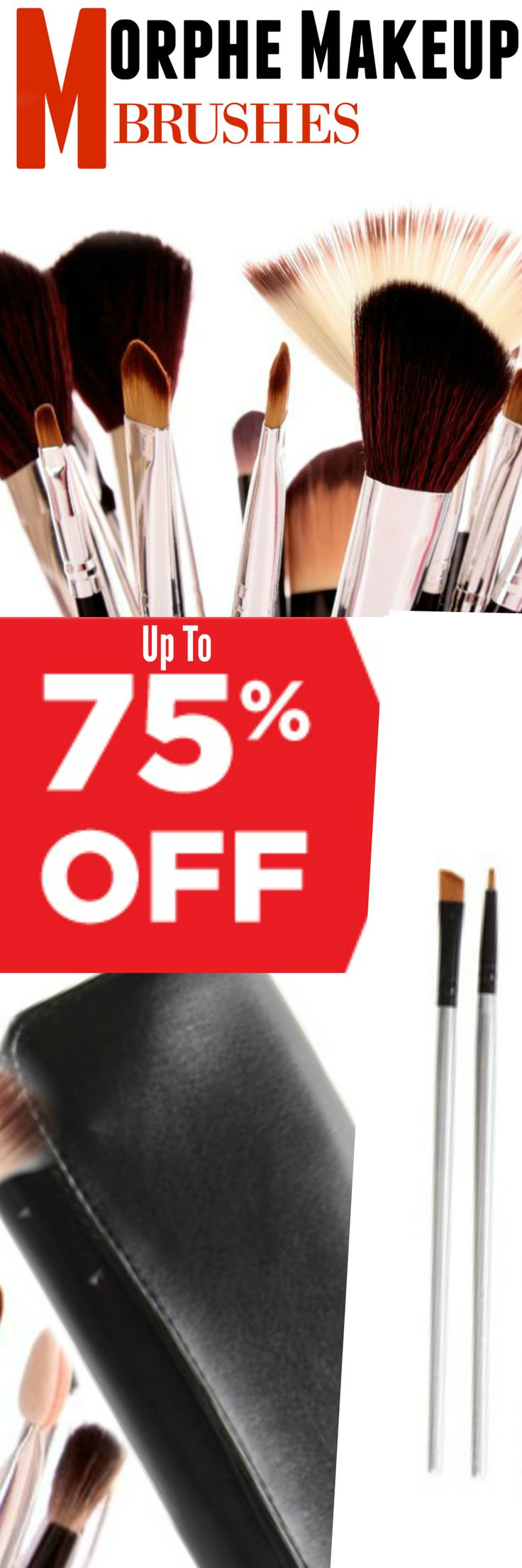 While quality is important when selecting brushes, they can cost a lot.  But not today, as HauteLook is featuring MORPHE brushes for up to 75% off! By Barbie's Beauty Bits