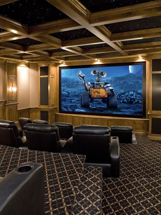 81 best images about home theater designs on pinterest media room design theater and cinema room - Home cinema design ideas ...