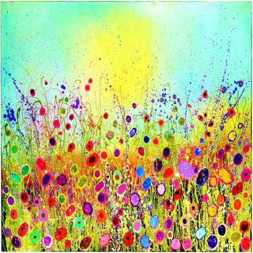 Paintings : Yvonne Coomber Limited Edition Print - All You Need Is Love - Unframed