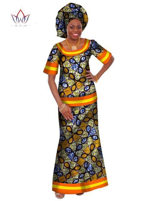 966d3058255 African Print Dashiki Ankara Skirt and Blouse Clothing
