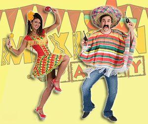 Образы для мексиканской вечеринки