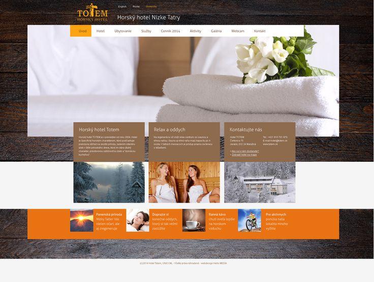 Totem Hotel Webdesign