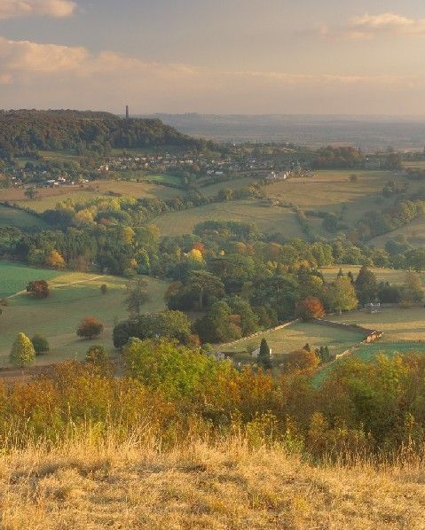 Cotswold Way in Autumn, UK