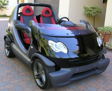 Smart Crossblade. You probably just see this as a Smart ForTwo Cabriolet, but the Smart Crossblade is under an entirely different model family.