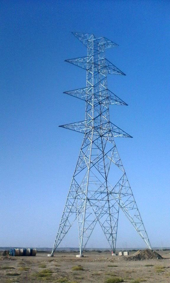 275kv Angle Tower Used As Electric Power Transmission Distribution It Consists Of Tower Head Crossarms Transmission Tower Tower Building Lattice Structure