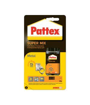 La colle epoxy de Pattex est idéale pour fixer du métal avec du métal ou d'autres matériaux. Pour coller du métal de façon efficace, utilisez cette colle epoxy spéciale.