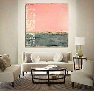 """Reflections of the Day"" - coastal abstract art by Sabina D'Antonio"
