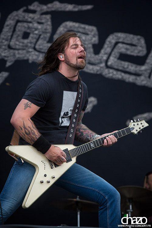 David Johannesson, Mustasch - Hellfest 2013 by Chazo